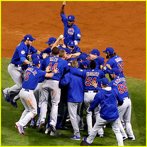 Chicago Cubs Win 2016 World Series - Celebs React!
