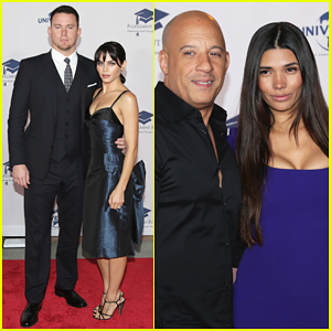 Channing Tatum & Vin Diesel Couple Up At 2016 Fulfillment Fund Stars Benefit Gala!