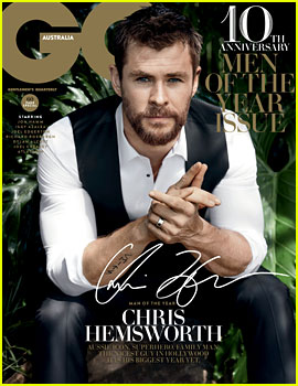 Chris Hemsworth Does a Sexy Photo Shoot for GQ Australia's Men of the Year!