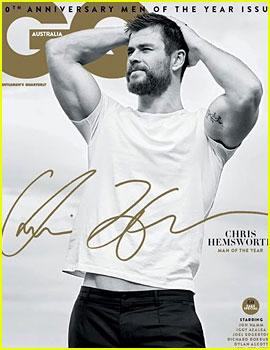 Chris Hemsworth Looks So Hot for GQ Australia's Man of the Year Issue!