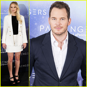 Chris Pratt Praises 'Passengers' Co-Star Jennifer Lawrence, Compares Her To Adele!