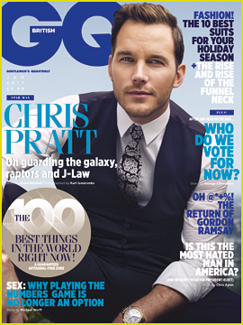 Chris Pratt Tells 'British GQ' That Filming 'Guardians of the Galaxy 2' Forced Him To Deal With His Father's Death