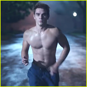 VIDEO: 'Riverdale' Star KJ Apa Goes Shirtless in First Teaser For Show