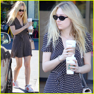 Dakota Fanning Proudly Casts Her Vote in the Election!