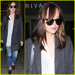 Dakota Johnson's Travel Style Continues to Be Chic & Easy!