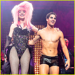 Darren Criss Bares Ripped Body During 'Hedwig' LA Opening!
