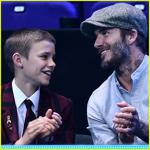 David & Romeo Beckham Enjoy Father-Son Bonding Time at ATP World Tour Finals