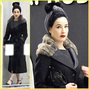 Dita Von Teese Says It's 'Simple-Minded Rhetoric' If You Think Your Vote Doesn't Count!