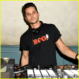 DJ Bobby French Kept the Crowd Dancing at Just Jared's Halloween Party!