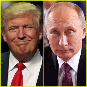 Vladimir Putin Sends Donald Trump Telegram After Election Win