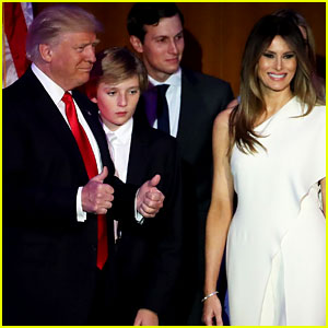 Donald Trump's Wife, Kids, & Family Support Him at Election Night Victory Event