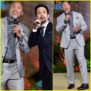 VIDEO: Dwayne Johnson & Lin-Manuel Miranda Perform 'You're Welcome' at 'Moana' Premiere