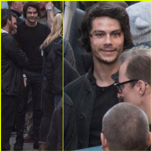 Dylan O'Brien Spotted on Set For First Time Since 'Maze Runner' Accident