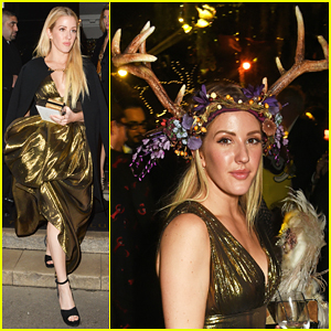 Ellie Goulding Channels Her Inner Animal At Animal Ball 2016!