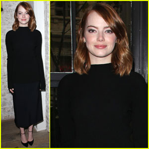 Emma Stone Says Humor Helps Lighten Her Sensitive Side