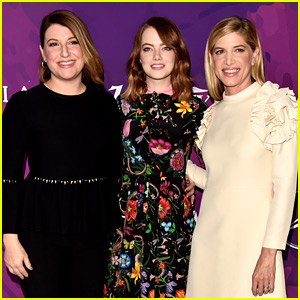 Emma Stone Honors Her Glam Squad at StyleMakers Event!