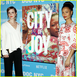 Emma Watson & Thandie Newton Show Their Support at 'City of Joy' Premiere
