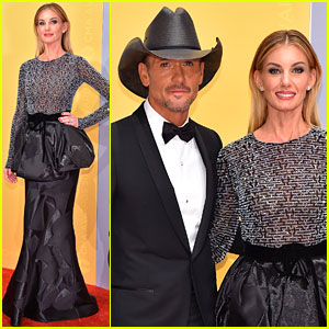 Faith Hill & Tim McGraw Are a Picture Perfect Couple at CMA Awards 2016!