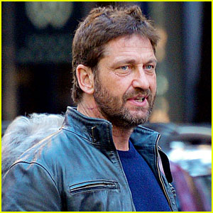 Gerard Butler Spends Some Time in New York City
