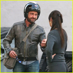 Gerard Butler Spends Time With Mystery Woman After Morgan Brown Split