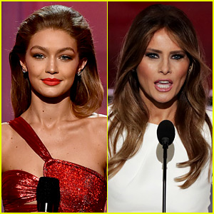 Gigi Hadid Responds to Melania Trump Impression Backlash