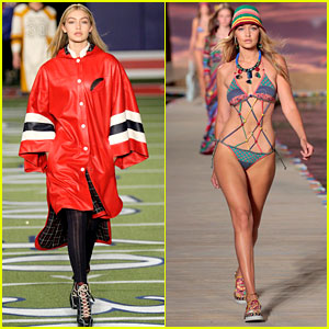 Gigi Hadid Was Put in a Poncho for Being 'Not Quite as Thin' at Tommy Hilfiger's 2015 Show