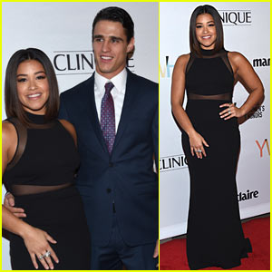 Gina Rodriguez & Boyfriend Joe LoCicero Make Their Public Debut at Young Women's Honors!