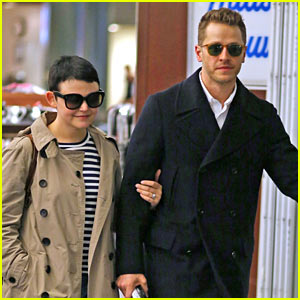 Ginnifer Goodwin & Josh Dallas Return to Vancouver to Film 'Once Upon a Time'