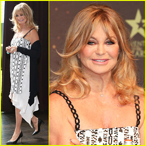 Goldie Hawn Hits Melbourne For Her One & Only Live Show 'A Night Of Laughs With Goldie'