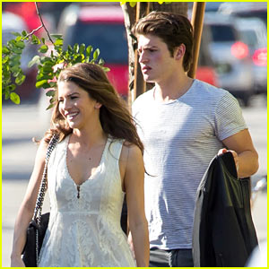 Gregg Sulkin Steps Out With Mystery Brunette in LA