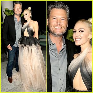 Blake Shelton Supports Gwen Stefani at Glamour Women of the Year Event