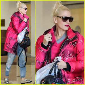 Gwen Stefani Took Her Boys on a Helicopter Ride!
