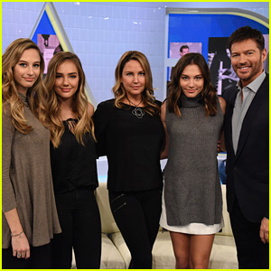 Harry Connick Jr.'s Wife & Kids Surprise Him on His Talk Show!