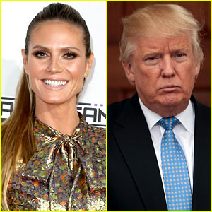 Heidi Klum Responds to Donald Trump's Sexist Comment: 'I Would Never Have Voted For Him'