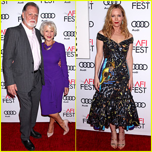 Helen Mirren Supports Her Husband at His AFI Movie Premiere!