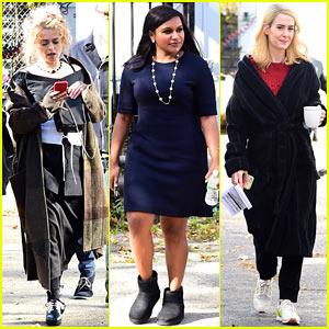 Helena Bonham Carter, Mindy Kaling & Sarah Paulson Continue 'Ocean's Eight' Filming