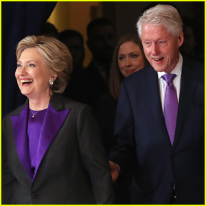 Hillary Clinton's Family Shows Support During Concession Speech