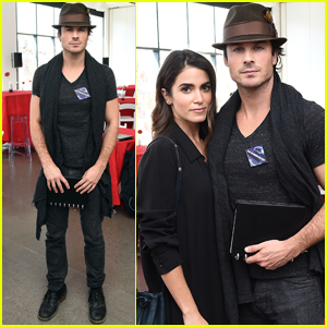 Ian Somerhalder & Nikki Reed Couple Up at PTTOW! Sessions