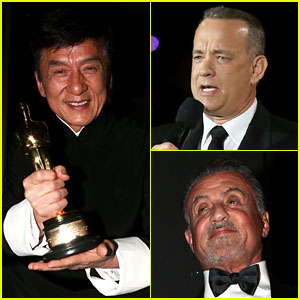 Jackie Chan Wins Oscar at Governors Awards 2016!