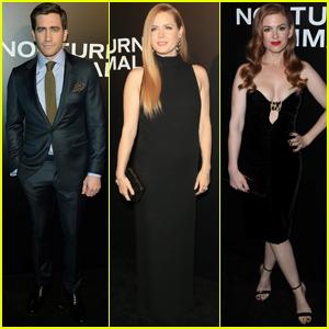 Jake Gyllenhaal & Amy Adams Premiere 'Nocturnal Animals' in LA