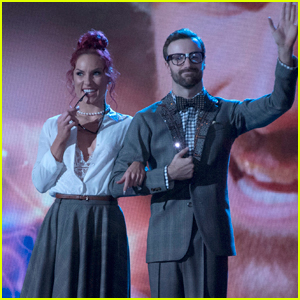 VIDEOS: James Hinchcliffe Gets Nerdy During 'DWTS' Finals