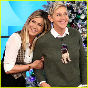 VIDEO: Jennifer Aniston Reveals How Justin Theroux Surprised Her on Thanksgiving!