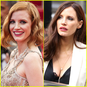 Jessica Chastain Is No Longer a Red Head, Sports Brunette Hair for 'Molly's Game'!