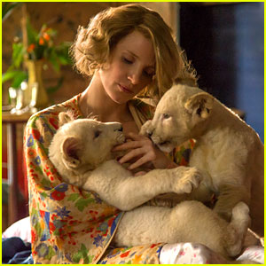 VIDEO: Jessica Chastain Stars in 'Zookeeper's Wife' Trailer