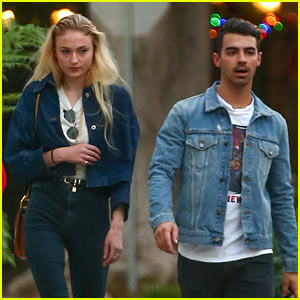 Joe Jonas & Sophie Turner Enjoy Afternoon Date in LA