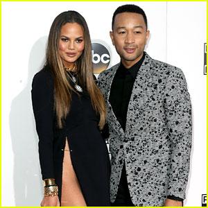 John Legend Weighs In on Chrissy Teigen's AMAs Wardrobe Malfunction