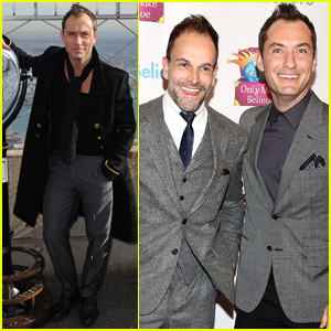 Jude Law Honored For Activism at Only Make Believe Gala