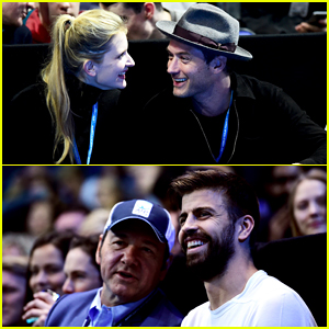 Jude Law & Phillipa Coan Enjoy Quality Couple Time At ATP World Tour Finals!