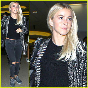 Julianne Hough Sends Support to Troops on Veteran's Day