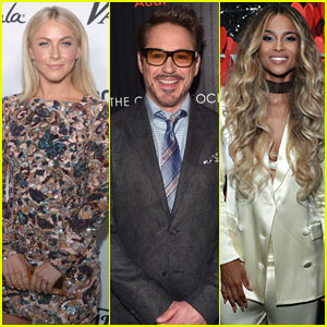 Julianne Hough, Robert Downey Jr, & More Set to Present at 2016 AMAs!
